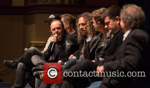 Lars Ulrich, Kirk Hammett, Dane DeHaan, Nimrod Antal, Christopher B. Smith Rafael Film Center
