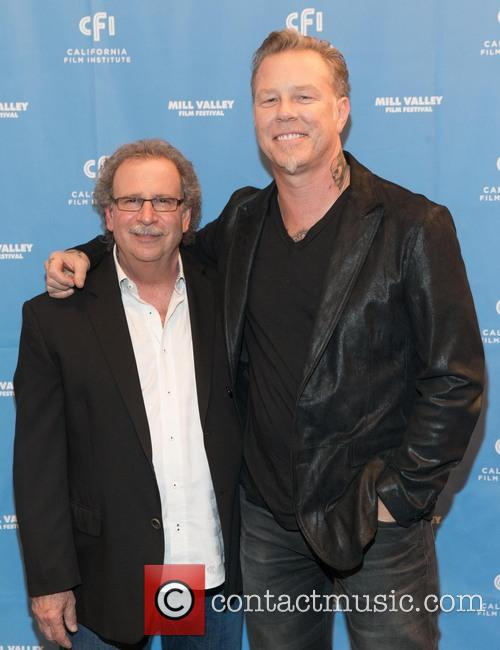 Mark Fishkin and James Hetfield 9