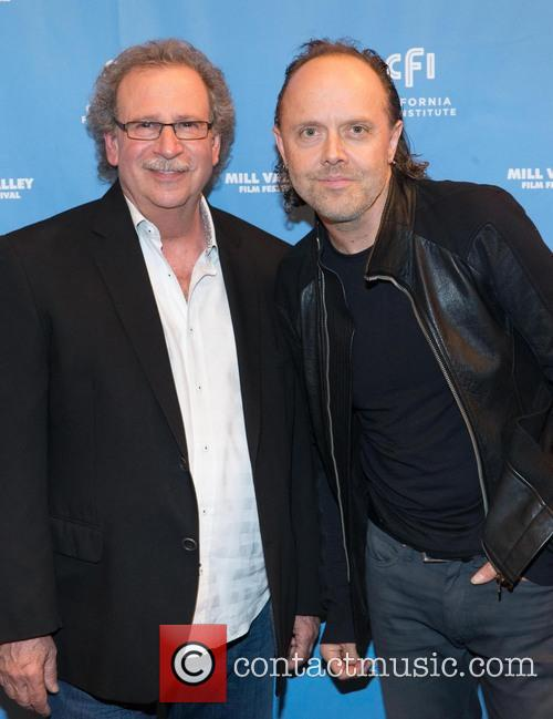 Mark Fishkin and Lars Ulrich 1