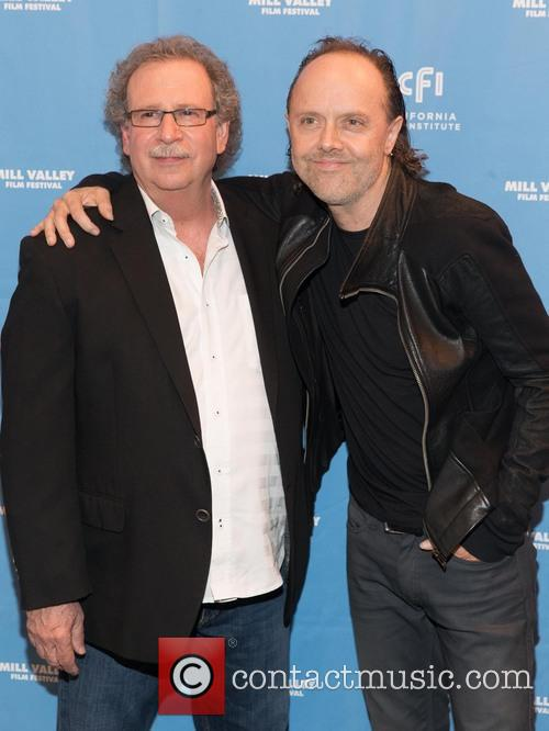 Mark Fishkin and Lars Ulrich 8