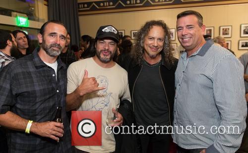 Robert Trujillo, Kirk Hammett and Guests 7