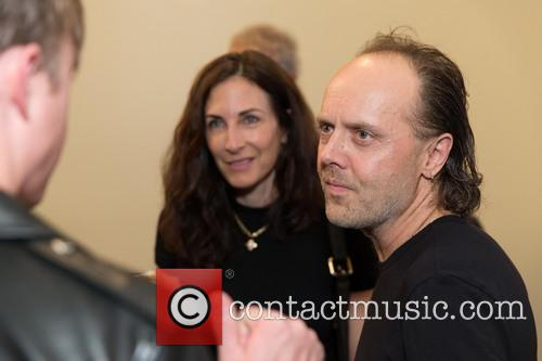 Stefanie Coyote and Lars Ulrich 2