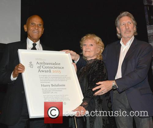 Harry Belafonte, Petula Clark and Roger Waters 1