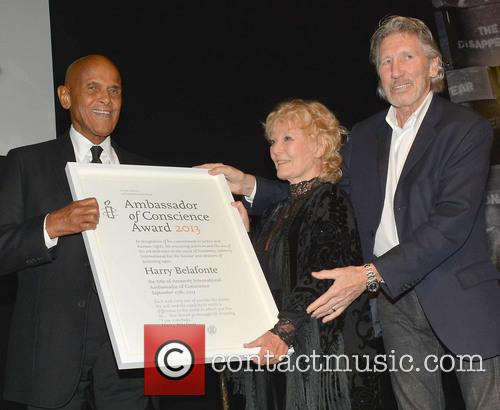 Harry Belafonte, Petula Clark and Roger Waters 3