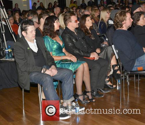 Shane Macgowan, Victoria Mary Clarke, Bono and Ali Hewson 3