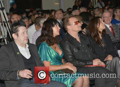 Shane Macgowan, Victoria Mary Clarke, Bono and Ali Hewson 6