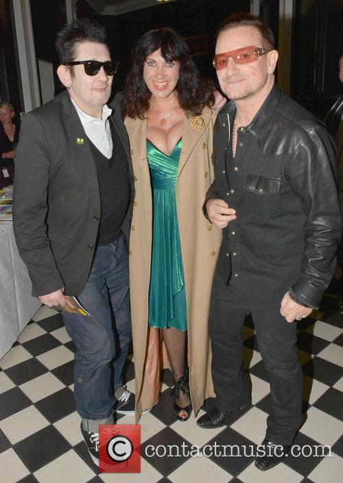 Shane Macgowan, Victoria Mary Clarke and Bono 5