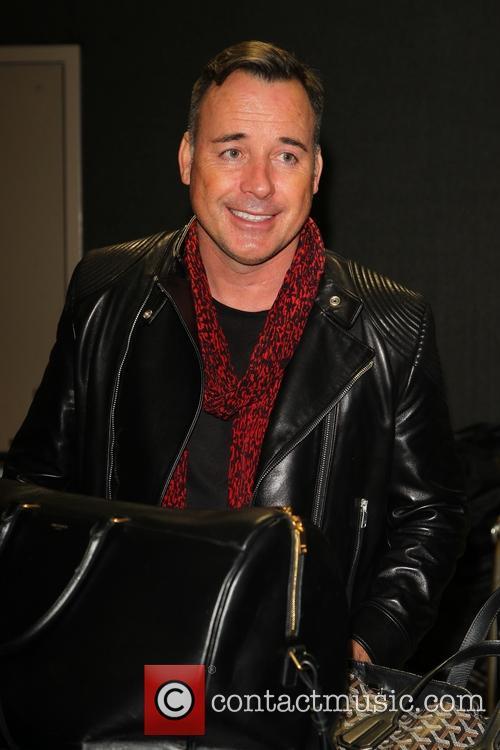 David Furnish at LAX