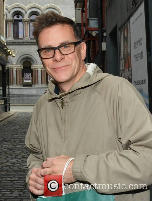 Deacon Blue members pose at The Olympia Theatre
