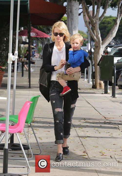 January Jones and Xander 5