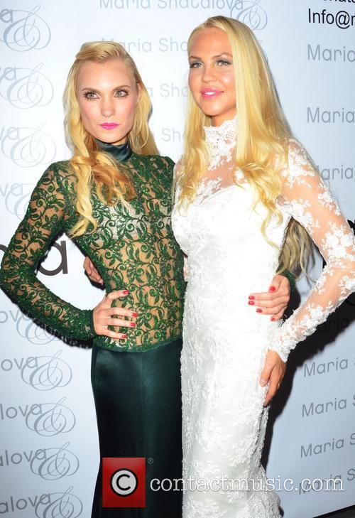Maria Shatalova and Model 8
