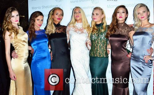 Maria Shatalova and Models 2