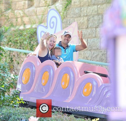 Melissa Joan Hart, Mark Wilkerson and Tucker Mcfadden Wilkerson 2