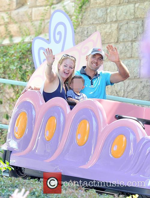 Melissa Joan Hart, Mark Wilkerson and Tucker Mcfadden Wilkerson 3