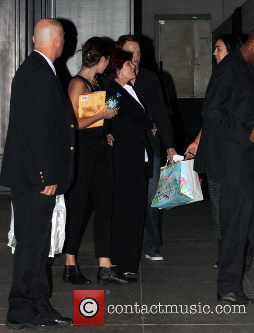 Sharon Osbourne Leaves The Grove