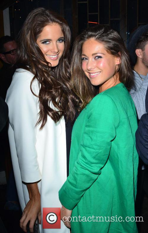Binky Felstead and Louise Thompson 1