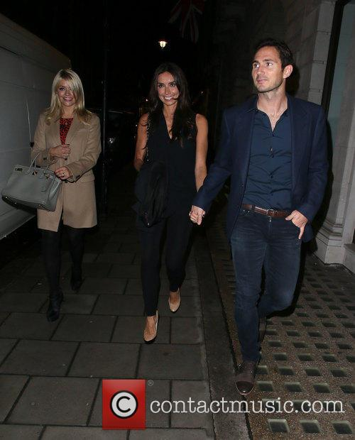 Frank Lampard, Holly Willoughby and Christine Bleakley 2