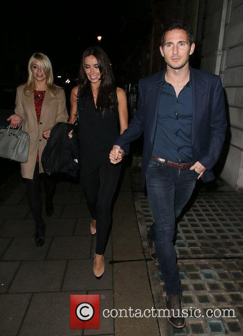 Frank Lampard, Holly Willoughby and Christine Bleakley 6