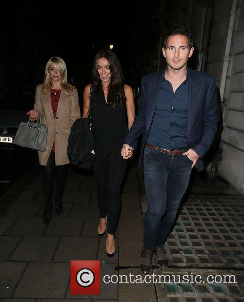 Frank Lampard, Holly Willoughby and Christine Bleakley 1