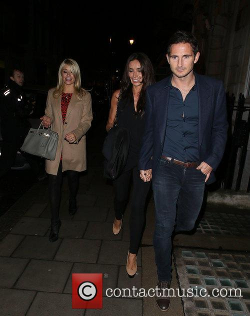 Frank Lampard, Holly Willoughby and Christine Bleakley 8