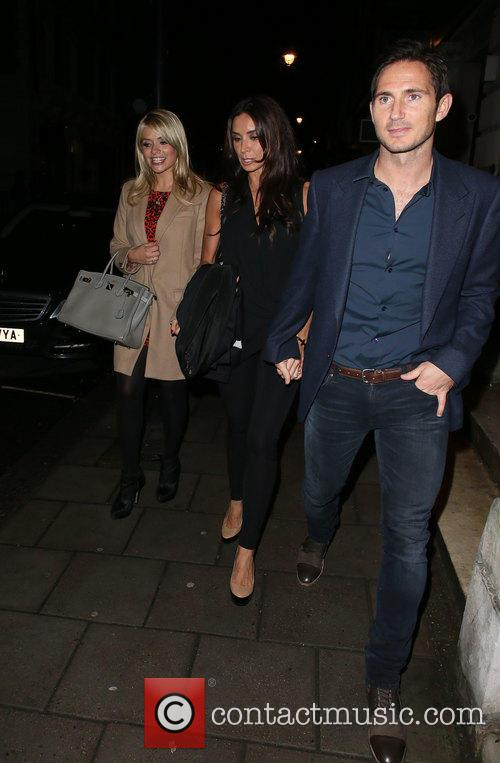 Frank Lampard, Holly Willoughby and Christine Bleakley 9