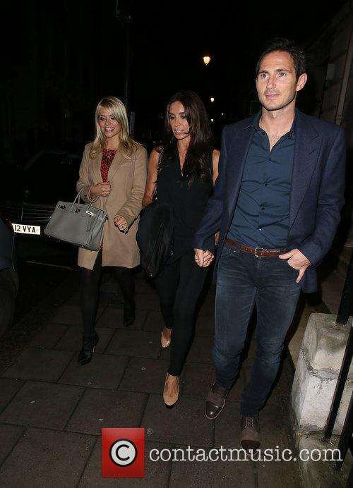 Frank Lampard, Holly Willoughby and Christine Bleakley 10