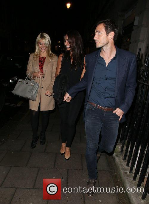 Frank Lampard, Holly Willoughby and Christine Bleakley 11