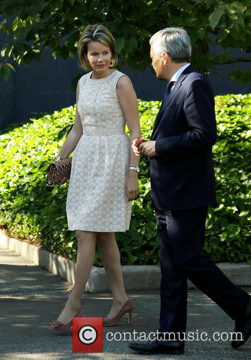 Queen Mathilde and Didier Reynders 2