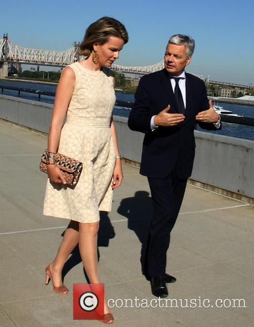 Queen Mathilde and Didier Reynders 4