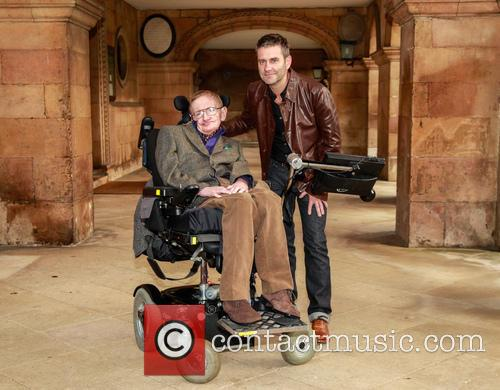 Stephen Hawking and Stephen Finnigan 3