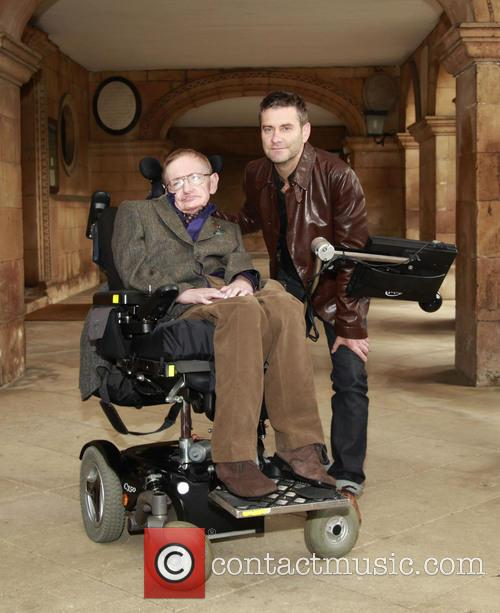 Stephen Hawking and Stephen Finnigan 10