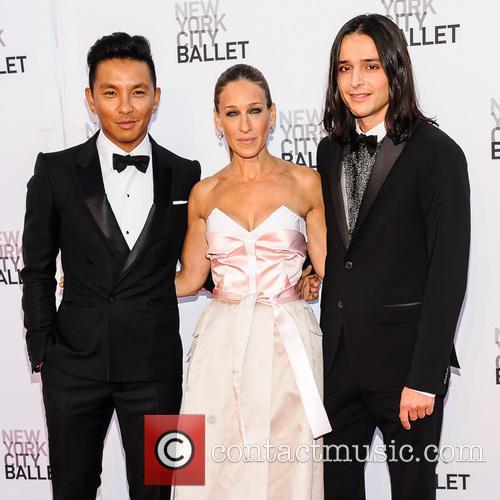 Prabal Gurung, Sarah Jessica Parker and Olivier Theyskens 2
