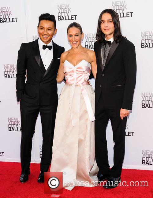Prabal Gurung, Sarah Jessica Parker and Olivier Theyskens 1