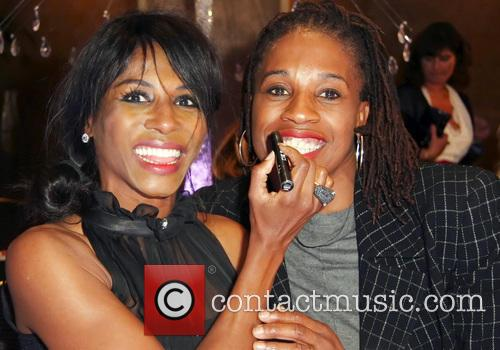 Sinitta and Christine Ohuruogu 2