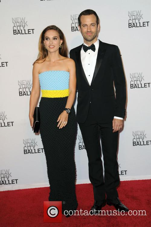 Natalie Portman and Benjamin Millepied 2