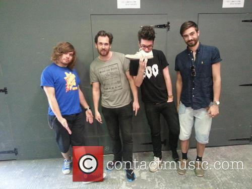 bastille glastonbury artists donate their shoes to 3874785