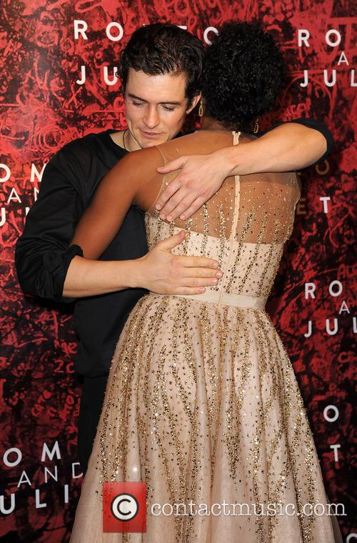 Orlando Bloom and Condola Rashad 2