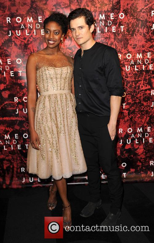 Orlando Bloom and Condola Rashad 8