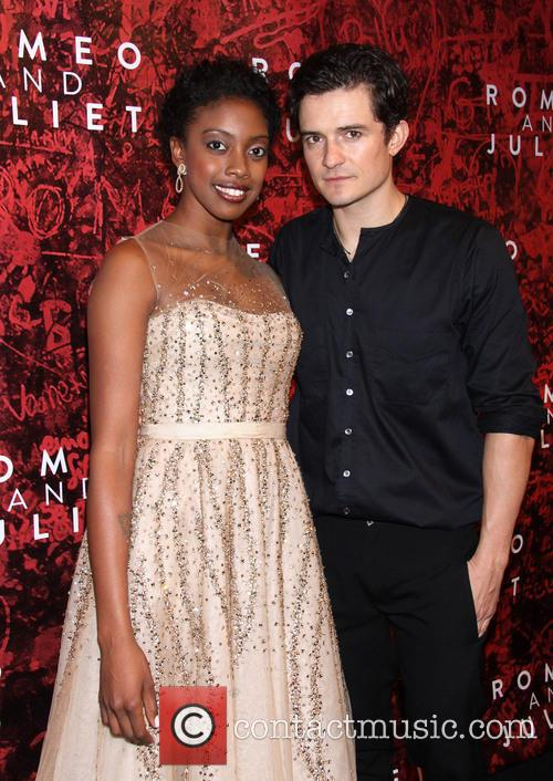 Condola Rashad and Orlando Bloom 5