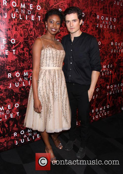 Condola Rashad and Orlando Bloom 6