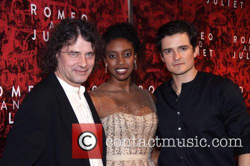 David Leveaux, Condola Rashad and Orlando Bloom 4