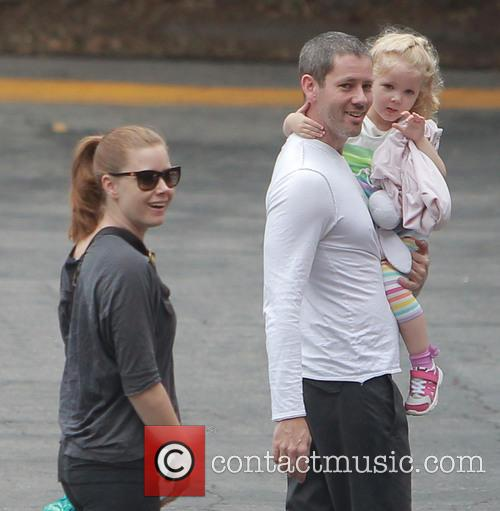 Amy Adams, Darren Le Gallo and Aviana La Gallo 1