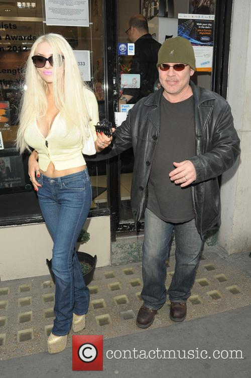 Doug Hutchinson and Courtney Stodden 1