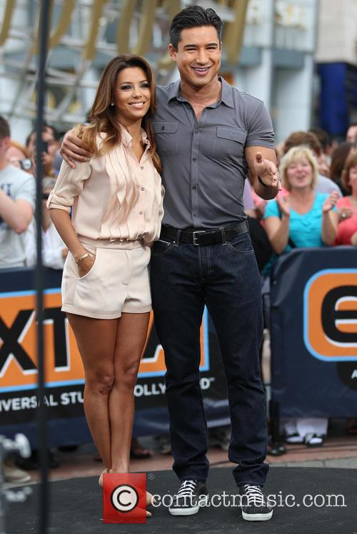 Eva Longoria and Mario Lopez 7