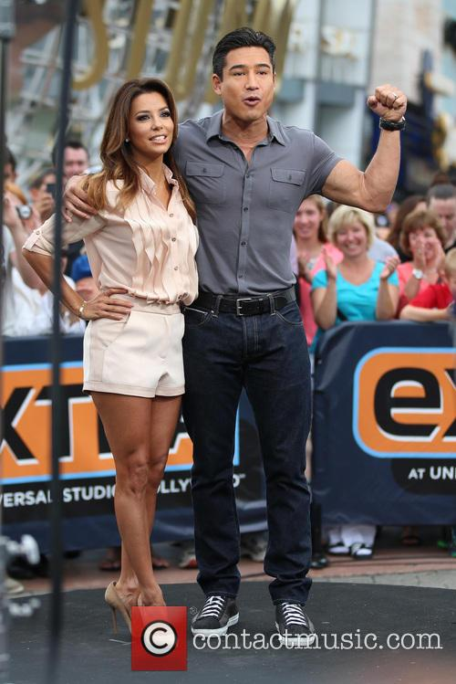Eva Longoria and Mario Lopez 9