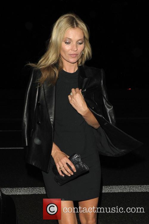 Kate Moss and Jamie Hince outside The Dorchester