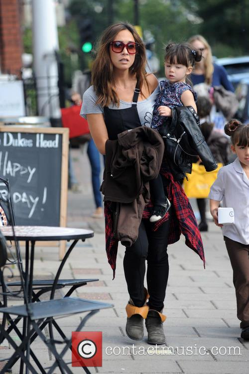 Myleene Klass, Ava and Hero 2