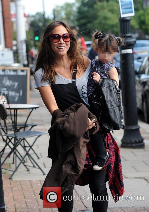 Myleene Klass, Ava and Hero 10