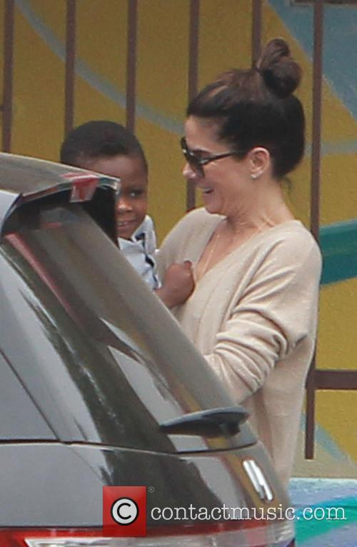 Sandra Bullock and Louis Bullock 2