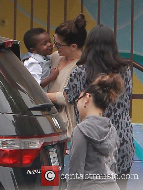 Sandra Bullock and Louis Bullock 1